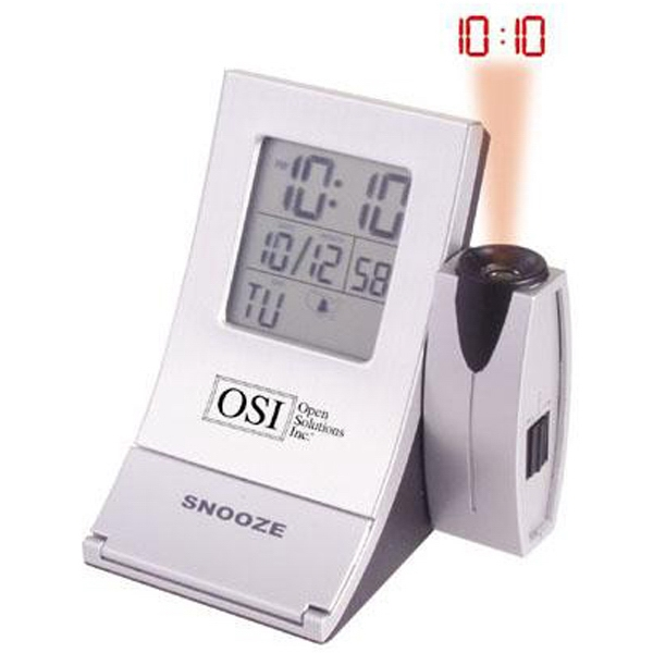 Custom Printed 1 Day Service Miniature LCD Projection Clocks