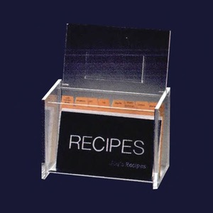 Recipe Boxes, Personalized With Your Logo!