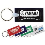Personalized Rectangular Shaped Key Tags