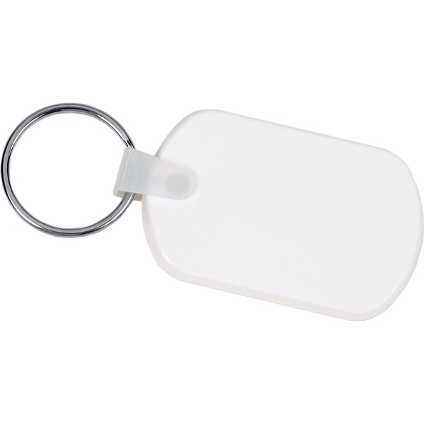 1 Day Service Metal Rope Key Tags, Custom Imprinted With Your Logo!