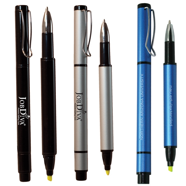 Custom Printed Recycled Aluminum Fun Pens