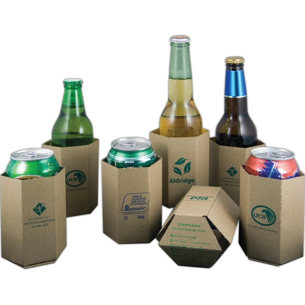 Custom Printed Recycled Can Coolers