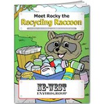 Custom Decorated Recycling Themed Coloring Books