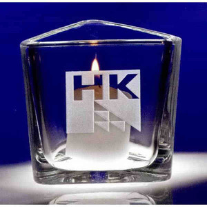Reflections Votive Crystal Gifts, Custom Imprinted With Your Logo!