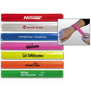 Custom Printed Reflective Wrist Bands