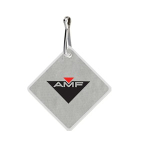 Reflective Zipper Pulls, Customized With Your Logo!