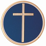Custom Engraved Religious Cross Emblems and Seals