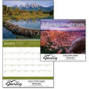 Custom Printed Religious Inspirations Appointment Calendars