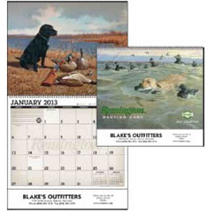 Custom Printed Remington Hunting Dogs Appointment Calendars