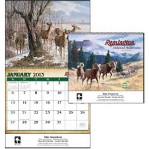 Custom Printed Remington Untamed Wilderness Appointment Calendars