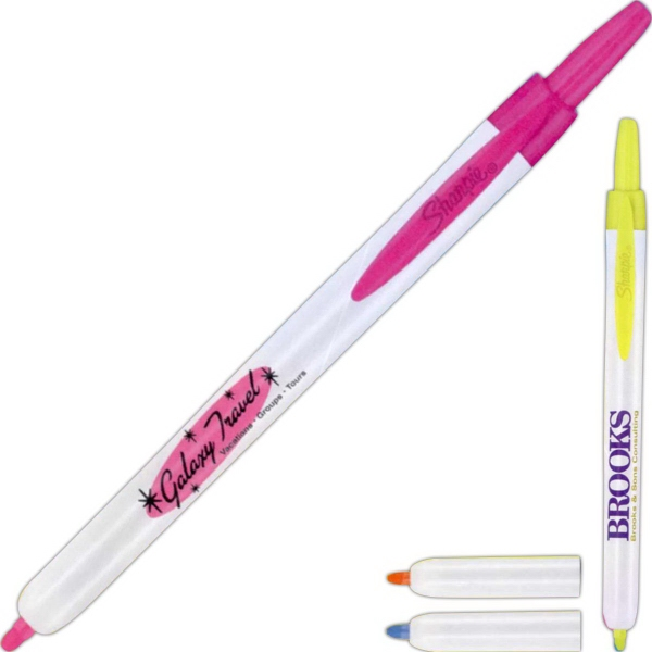 Custom Printed Sharpie Retractable Highlighters