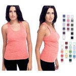 Custom Printed American Apparel Tank Tops For Women