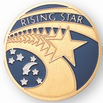 Custom Engraved Rising Star Emblems and Seals