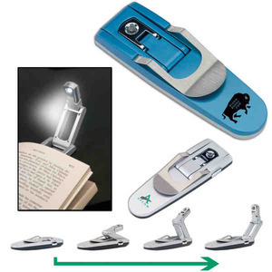 Custom Printed Robot Reading Book Lights
