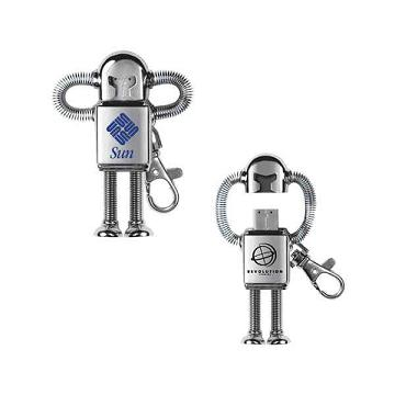 Custom Printed Robot USB Drives