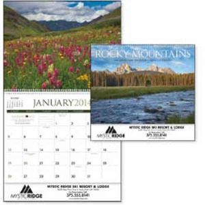 Custom Printed Rocky Mountains Appointment Calendars