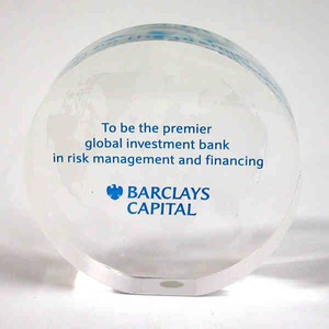 Custom Printed Round Shaped Acrylic Embedments