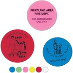 Custom Printed Round Shaped Erasers