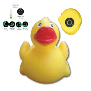 Custom Printed Rubber Ducks with Thermometers