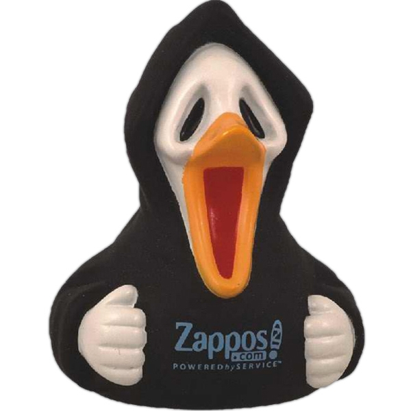 Halloween Scary Rubber Duck Toys, Custom Imprinted With Your Logo!