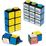 Custom Printed Rubiks Cube Magnetic Highlighter Sets