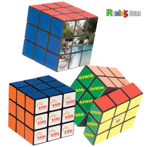 Custom Printed Rubiks Cube Puzzles