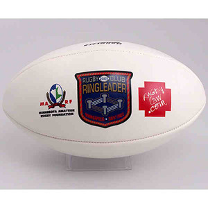 Custom Printed Rugby Sport Mid Size Balls