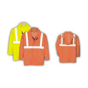 Custom Printed Safety Reflective Basic Jackets