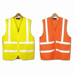 Custom Printed Safety Reflective Basic Vests