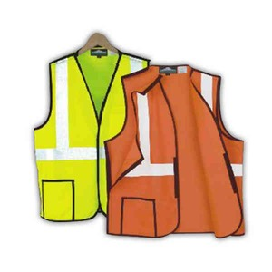 Custom Printed Safety Reflective Break-away Vests