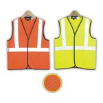 Custom Made Safety Reflective Mesh Vests