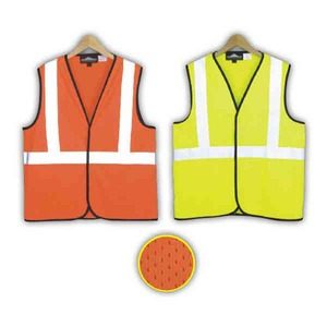 Custom Printed Safety Reflective Mesh Vests
