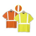 Custom Printed Safety Reflective T-Shirts with a Pocket