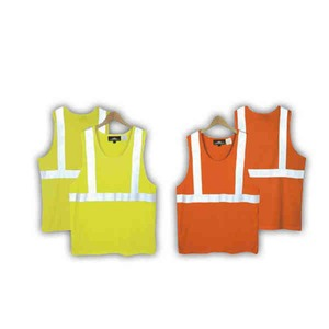 Custom Printed Safety Reflective Tank Tops