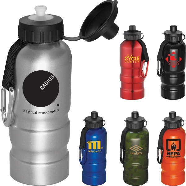 Custom Printed 34oz. Aluminum Camouflage Water Bottles
