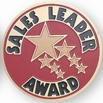 Custom Engraved Sales Leader Award Emblems and Seals