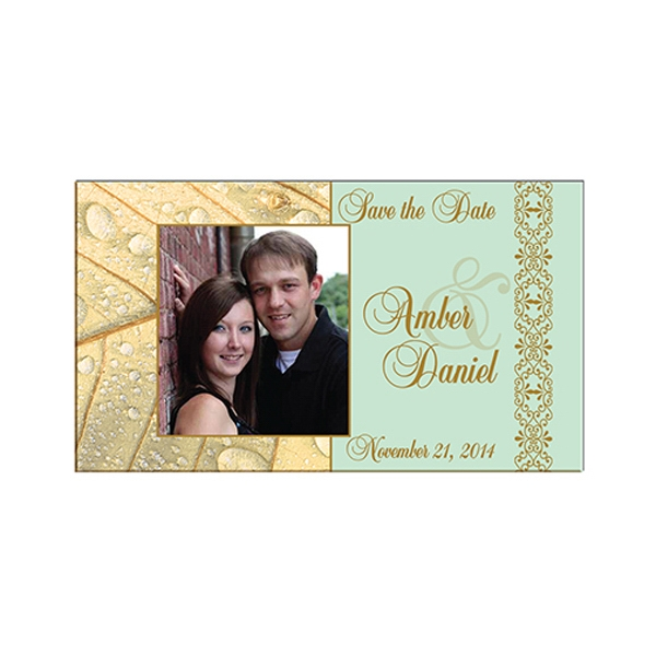 Custom Imprinted Wedding Favor Save the Date Magnets