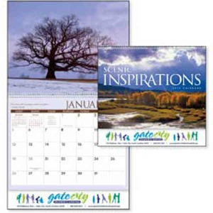 Custom Printed Scenic Inspirations Appointment Calendars