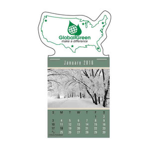 Custom Printed Scenic Press And Stick Calendars