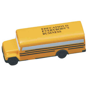 Custom Imprinted School Bus Stress Relievers