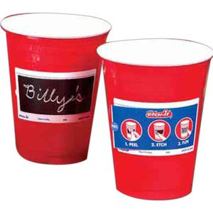 Scratch Your Name Cups, Custom Imprinted With Your Logo!