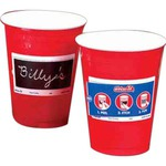 Custom Printed Write On Party Cups