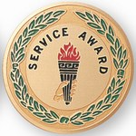 Custom Engraved Service Award Emblems and Seals