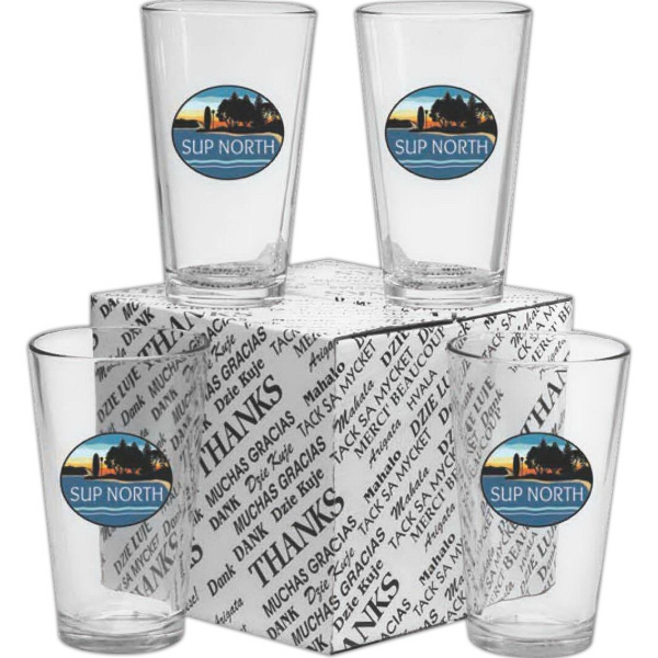 Custom Printed Pint Glass Sets