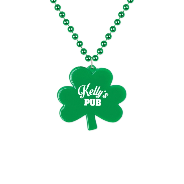 Custom Printed St. Patrick's Day Necklaces