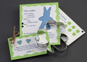 Custom Printed Shamrock Stock Shaped Cookie Cutters