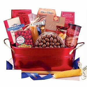 Amazing Sharables Gift Baskets, Custom Imprinted With Your Logo!