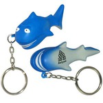 Custom Printed Shark Key Chains