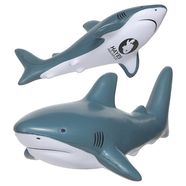 Custom Printed Shark Stress Relievers