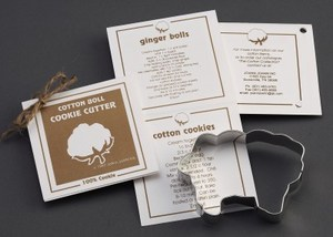 Custom Imprinted Sheep Stock Shaped Cookie Cutters